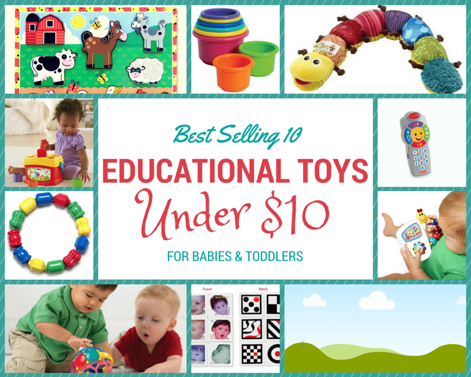 Best Selling 10 Educational Toys under $10 #kids #educational #toys