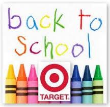 Target back to school savings