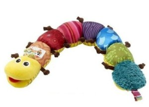 DDStore S0BZ Colorful Musical Inchworm Developmental Baby Toy under $10