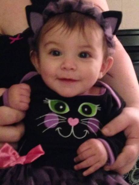 Scarlett baby halloween costume what an adorable little cutie!