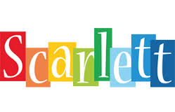 Scarlett colorful generated text