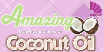 Amazing Coconut Oil Secrets! There are many uses and benefits of Coconut Oil! Check out this blog on Kids Bloom to find out more! #coconutoil #diaperrash #baby