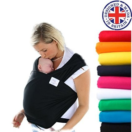 Liberty Slings Baby Wrap Review #babywearing #wrap #babysling