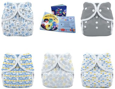 Baby cloth diaper waterproof on Amazon. #baby #save #clothdiapers