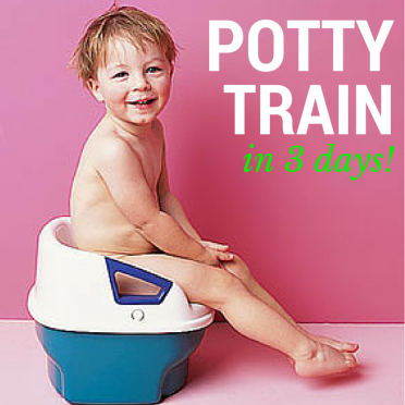 Potty train your stubborn infant or toddler in 3 days! #infant #poop #early